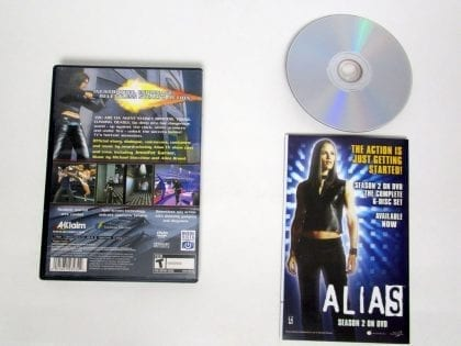 Alias game for Playstation 2 (Complete) | The Game Guy