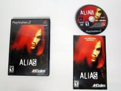 Alias game for Sony Playstation 2 PS2 -Complete