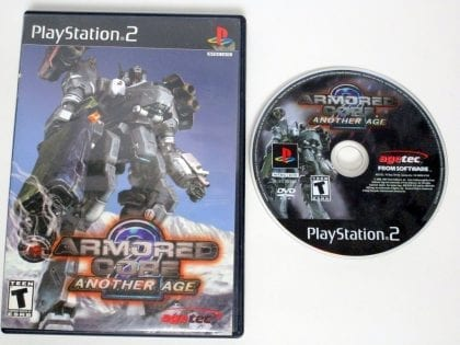 Armored Core 2 Another Age game for Sony Playstation 2 PS2 -Game & Case