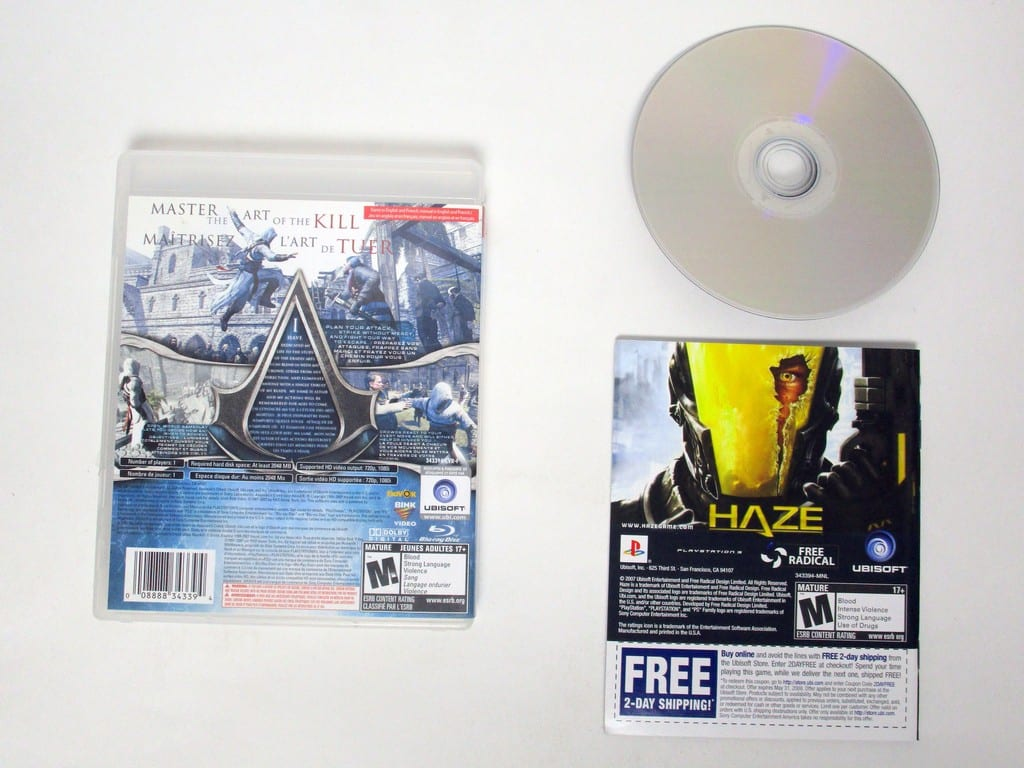 Assassin's Creed game for Playstation 3 (Complete)   The Game Guy
