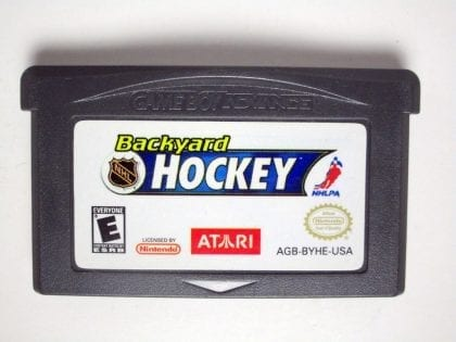 Backyard Hockey game for Nintendo Gameboy Advance - Loose