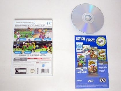 Big League Sports game for Wii (Complete) | The Game Guy