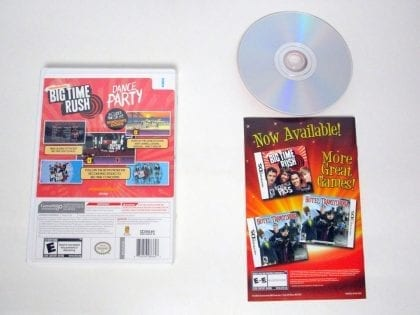 Big Time Rush Dance Party game for Wii (Complete)   The Game Guy