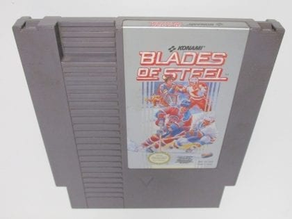 Blades of Steel game for Nintendo NES - Loose
