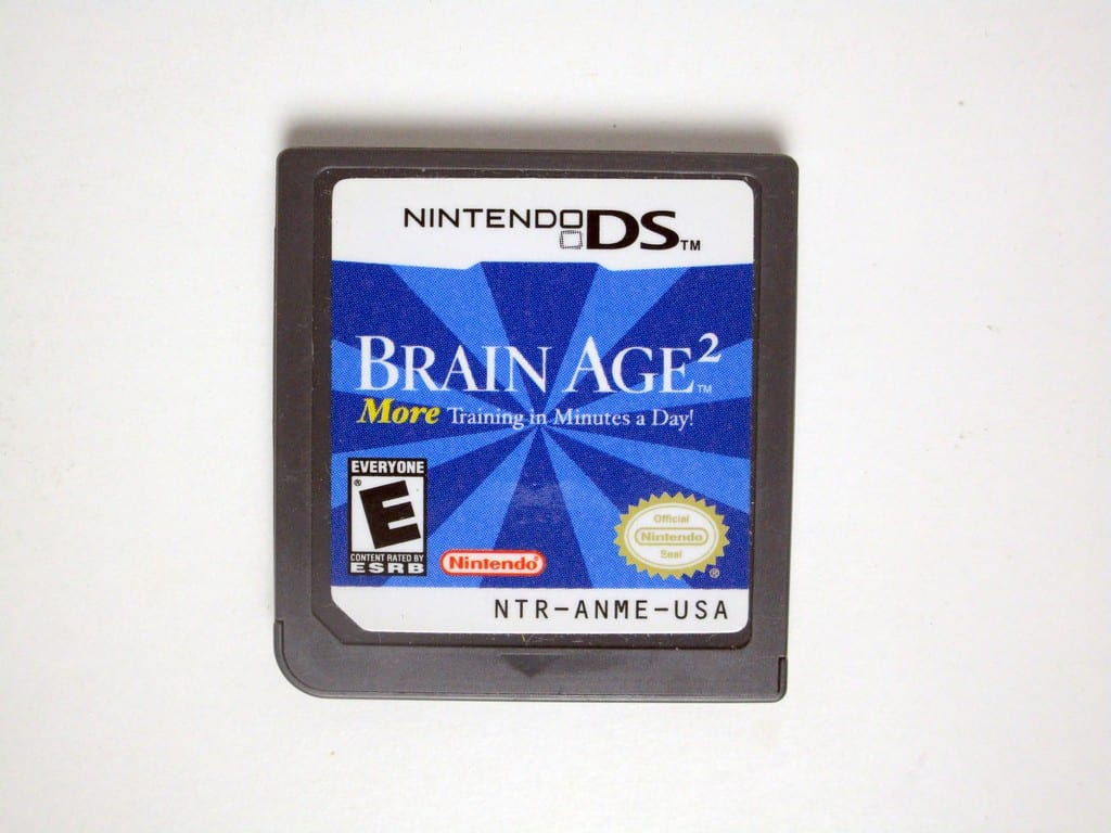 Brain Age 2 game for Nintendo DS - Loose