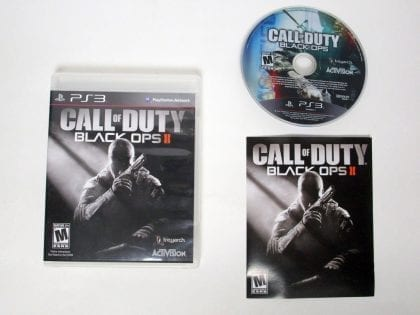 Call of Duty: Black Ops II game for Sony Playstation 3 PS3 -Complete