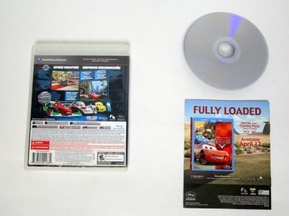 Cars 2 game for Playstation 3 (Complete) | The Game Guy