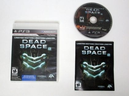Dead Space 2 Limited Edition game for Sony Playstation 3 PS3 -Complete