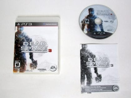Dead Space 3 Limited Edition game for Sony Playstation 3 PS3 -Complete