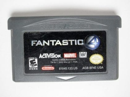 Fantastic 4 game for Nintendo Gameboy Advance - Loose