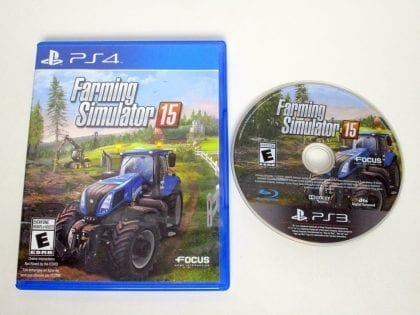 Farming Simulator 15 game for Sony Playstation 3 PS3 -Game & Case