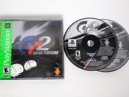 Gran Turismo 2 game for Sony Playstation PS1 PSX -Game & Case