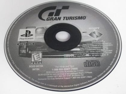 Gran Turismo game for Sony Playstation PS1 PSX - Loose