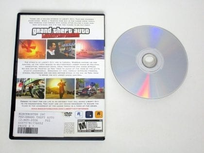 Grand Theft Auto Liberty City Stories game for Playstation 2 | The Game Guy