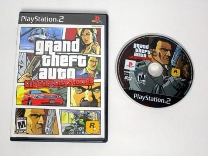 Grand Theft Auto Liberty City Stories game for Sony Playstation 2 PS2 -Game&Case