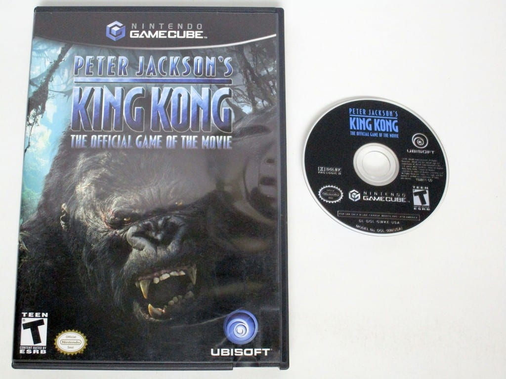 King Kong the Movie game for Nintendo Gamecube -Game & Case