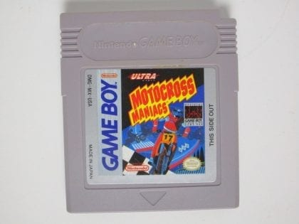 Motocross Maniacs game for Nintendo GameBoy - Loose