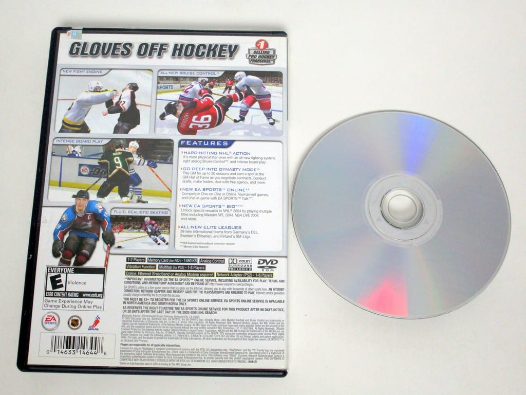 NHL 2004 game for Playstation 2 | The Game Guy