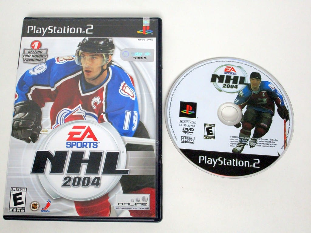 NHL 2004 game for Sony Playstation 2 PS2 -Game & Case