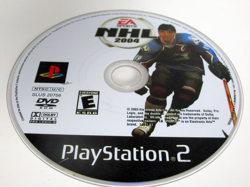 NHL 2004 game for Sony Playstation 2 PS2 - Loose