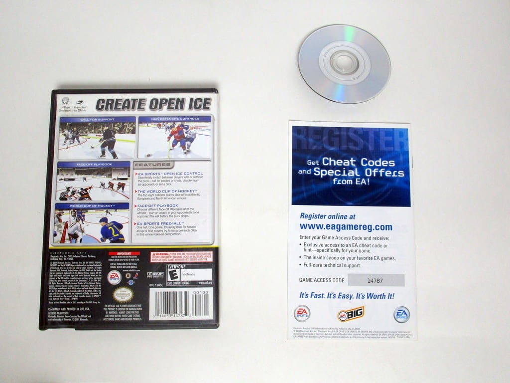 NHL 2005 game for Gamecube (Complete) | The Game Guy