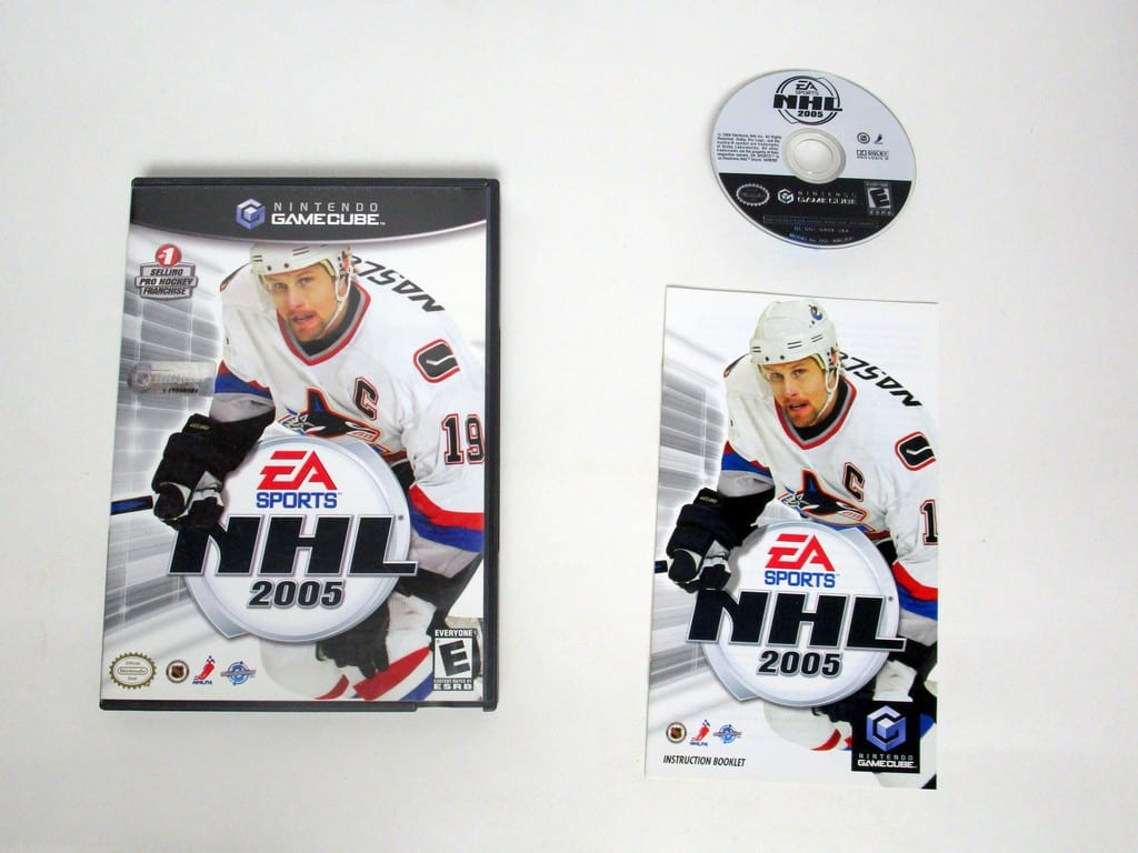 NHL 2005 game for Nintendo Gamecube -Complete