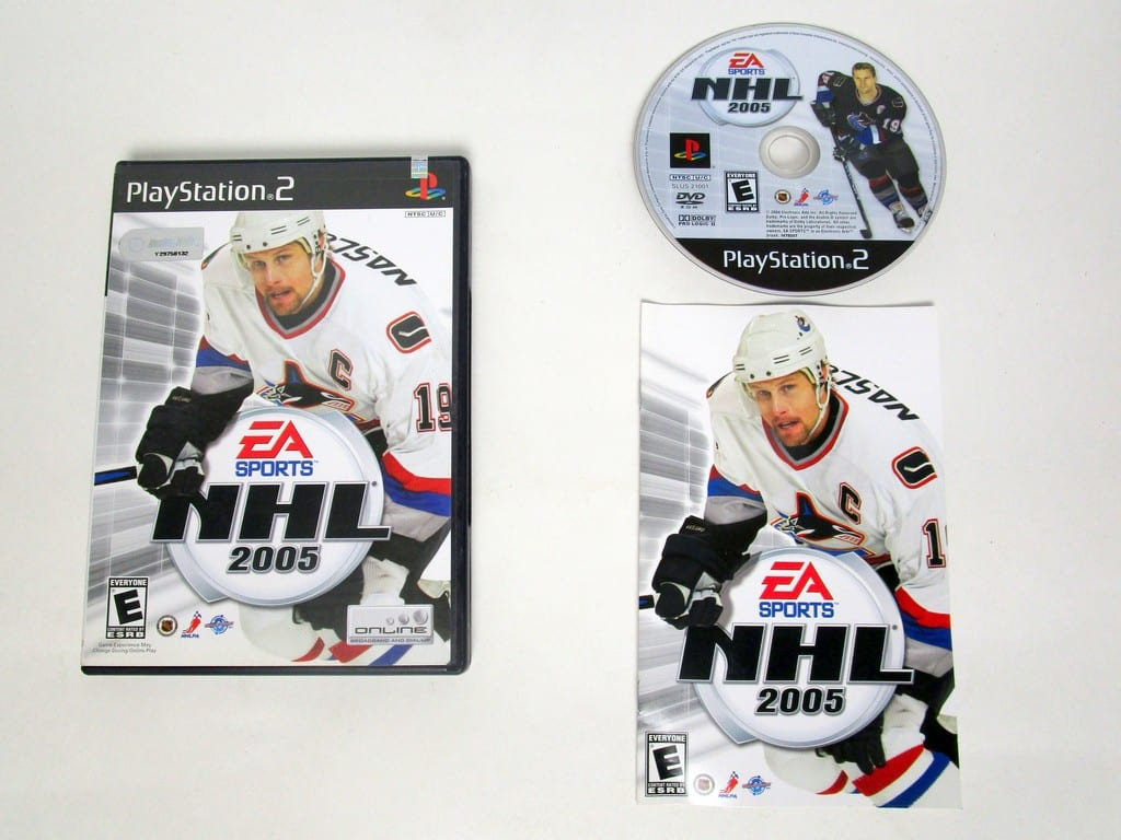 NHL 2005 game for Sony Playstation 2 PS2 -Complete