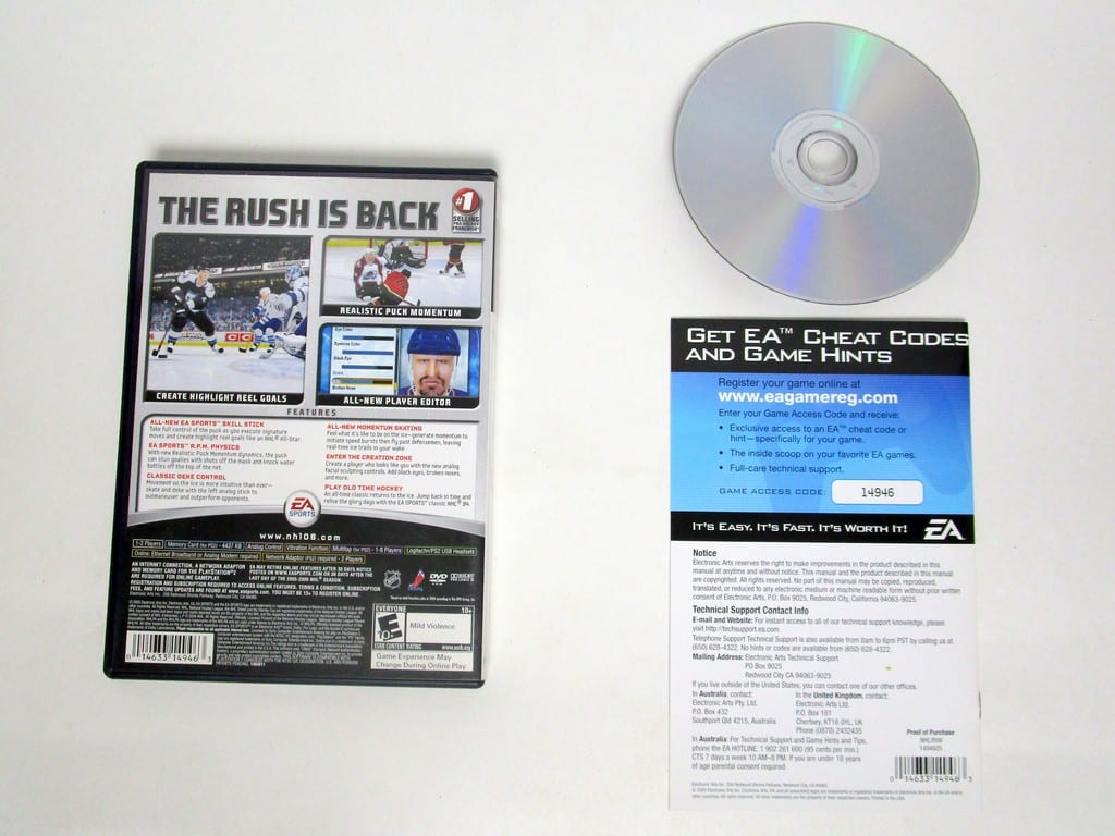NHL 2006 game for Playstation 2 (Complete) | The Game Guy
