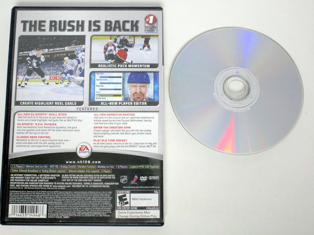 NHL 2006 game for Playstation 2 | The Game Guy