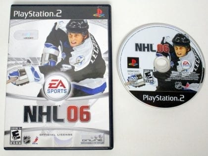 NHL 2006 game for Sony Playstation 2 PS2 -Game & Case