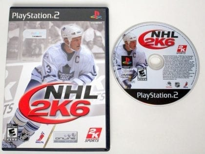 NHL 2K6 game for Sony Playstation 2 PS2 -Game & Case