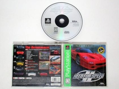Need for Speed 2 game for Sony Playstation PS1 PSX -Complete