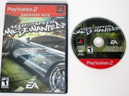 Need for Speed Most Wanted game for Sony Playstation 2 PS2 -Game & Case