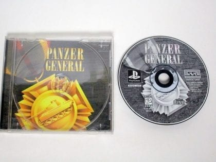 Panzer General game for Sony Playstation PS1 PSX -Game & Case