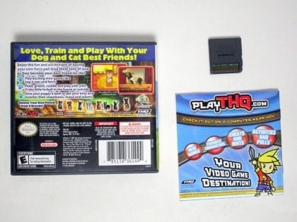 Paws and Claws Dogs and Cats Best Friends game for Nintendo DS (Complete)   The Game Guy