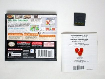 Personal Trainer Cooking game for Nintendo DS (Complete)   The Game Guy