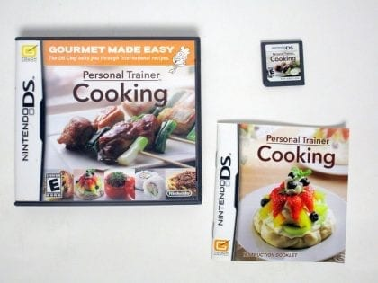 Personal Trainer Cooking game for Nintendo DS -Complete