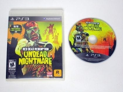 Red Dead Redemption Undead Nightmare Collection game for PS3 Game&Case