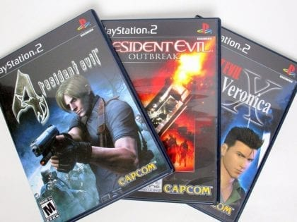 Resident Evil Essentials game for Playstation 2 (Complete) | The Game Guy