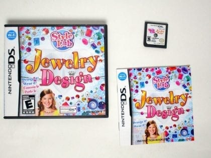 Style Lab: Jewelry Design game for Nintendo DS -Complete