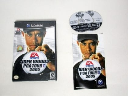 Tiger Woods 2005 game for Nintendo Gamecube -Complete