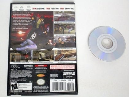 True Crimes Streets of LA game for Gamecube | The Game Guy