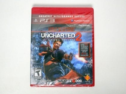 Uncharted 2 Among Thieves Game of Year Edition game for PS3 - New