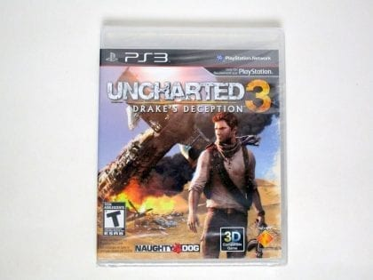 Uncharted 3: Drake's Deception game for Sony Playstation 3 PS3 - New