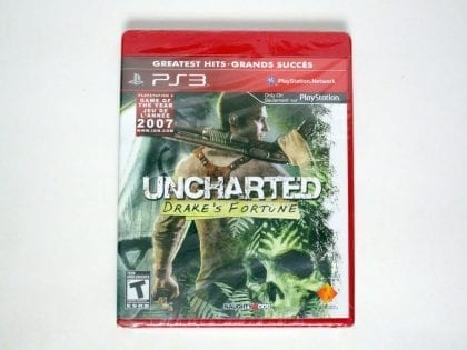 Uncharted Drake's Fortune game for Sony Playstation 3 PS3 - New