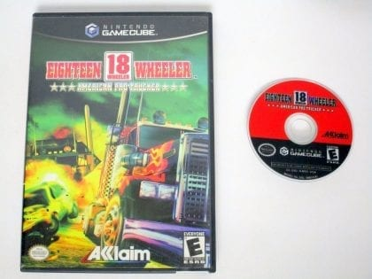 18 Wheeler American Pro Trucker game for Nintendo Gamecube -Game & Case