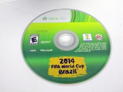 2014 FIFA World Cup Brazil game for Microsoft Xbox 360 - Loose