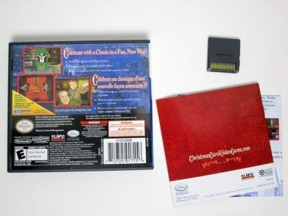 A Christmas Carol game for Nintendo DS (Complete) | The Game Guy