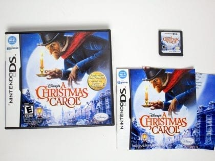 A Christmas Carol game for Nintendo DS -Complete