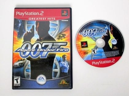 Agent Under Fire game for Sony Playstation 2 PS2 -Game & Case